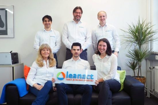 Gruppenfoto leanact GmbH